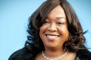 Producer and writer Shonda Rhimes, creator of the